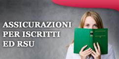 Assicurazioni e Convenzioni per Iscritti / RSU