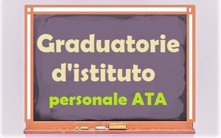 graduatorie d'istituto ATA
